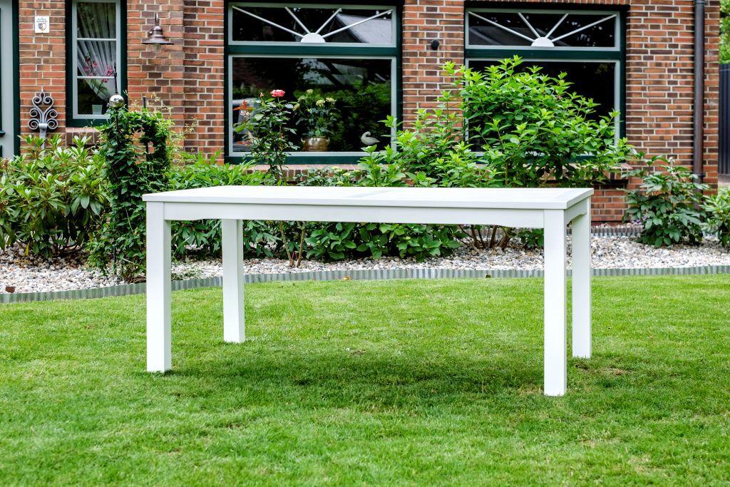 Gartentisch Windsor Aus Teakholz 150x90 Cm Die Grosse Gartenbank