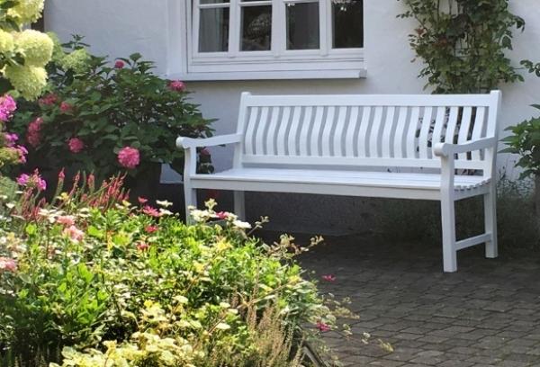 teakholz bank 180 cm f r ihren garten die gro e gartenbank auswahl. Black Bedroom Furniture Sets. Home Design Ideas